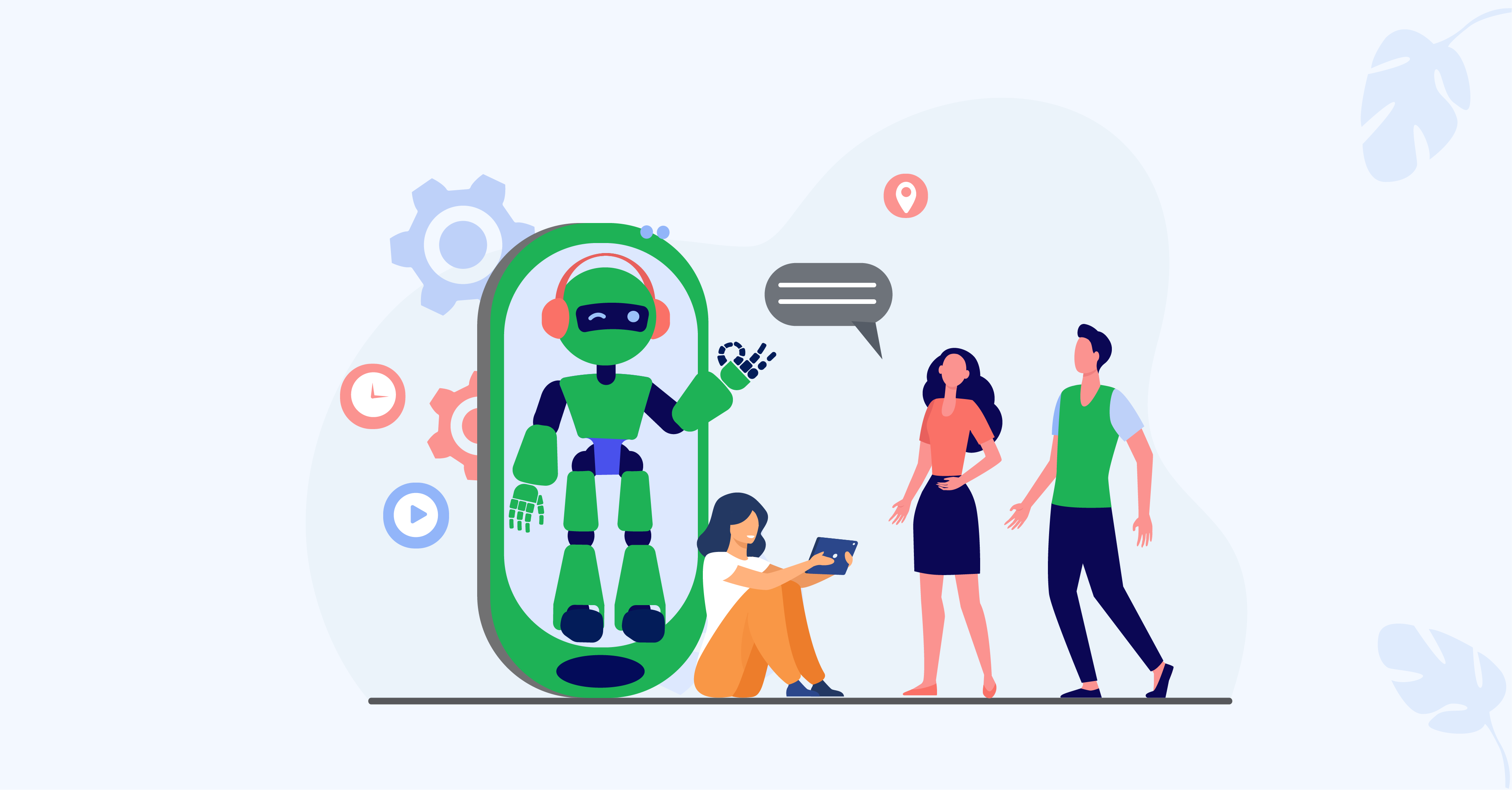 5 Ways in Which AI Chatbots Can Improve Customer Satisfaction
